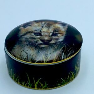 Vintage Lynx Music Box